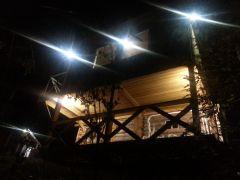 Банька в ночном обзоре