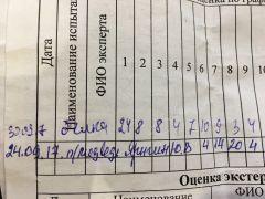 Вулкан испытание белка 30.09.17
