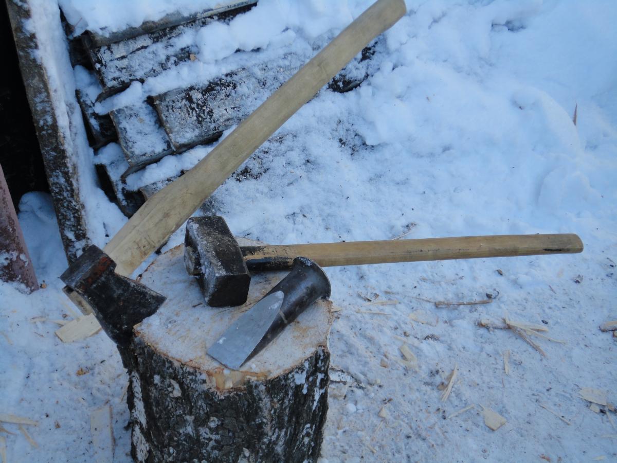 Самодельный клин для сваливания дерева - Изобретения 88