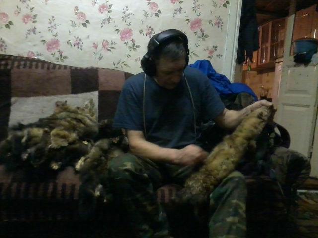 Сергей Лебедев после после удачного промысла (соболь-Русское золото).jpg