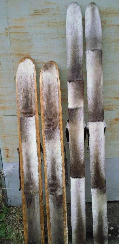 Как обшить лыжи камусом своими руками 49