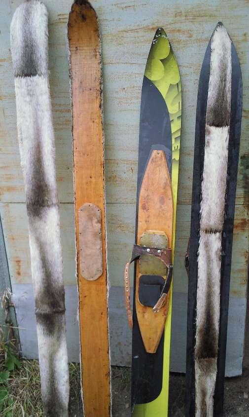 Как обшить лыжи камусом своими руками видео