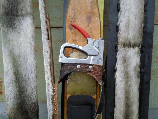 Как обшить лыжи камусом своими руками 17